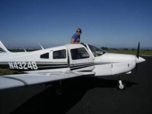 Max Burrell plane